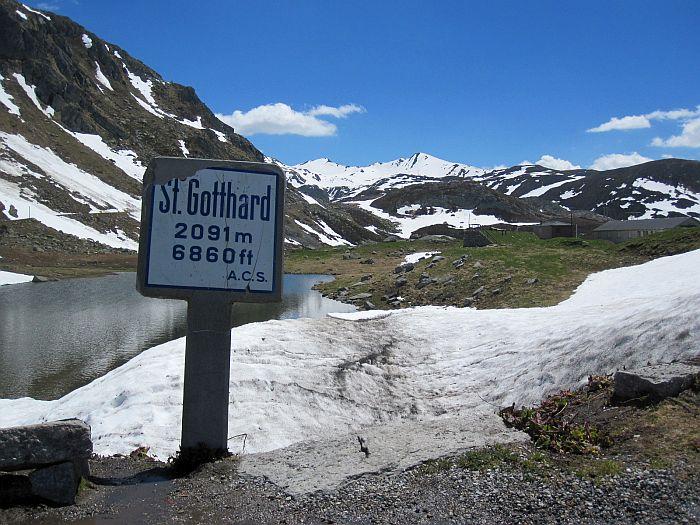Die Beseitigung des Gotthards